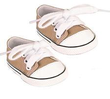 Khaki Sneakers Fits 18 inch American Girl Doll Logan