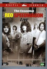 The Essential REO SPEEDWAGON Live / DVD, NEW