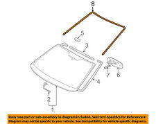 TOYOTA OEM 04-10 Sienna Windshield-Reveal Molding 75531AE010