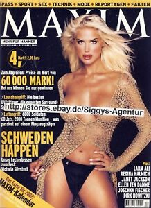 MAXIM 12/2001 Victoria Silvestedt Janet Jackson Laila Ali Regina Halmich
