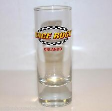 Shot Glass Shooter RACE ROCK Orlando (black/white track on front)