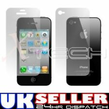 2 x iPhone 4 Front and Back Screen Protector Hi-Quality