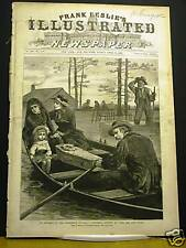 RARE Original Antique Newspaper JESSE JAMES KILLED Complete Frank Leslie's 1882