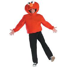 ELMO COSTUME Plush Adult Mens 42-46 Sesame Street Disguise Children Kids NEW