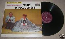The King and I Soundtrack LP Yul Brynner Decca DL 9008