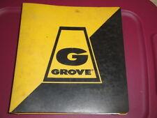 GROVE RT755 Crane Illustrated PARTS Manual  GMC 6V-53N  09/1981
