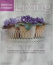 MARTHA STEWART LIVING Issue No. 90  MAY 2001
