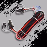 "2pc 16 Gauge 96"" Quick Disconnect Connect 2-Pin SAE Waterproof Wire Harness Plug"