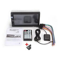 "7""HD 2 Din Touch Screen Car GPS Navigation Bluetooth FM Radio MP5 Player Fashion"