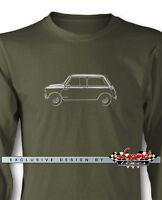 Austin Mini Cooper Long Sleeves T-Shirt - Multiple Colors & Sizes - British Car