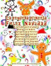 La Pequeña Princesa Feliz Navidad Libro de Actividades para Los niños Juega y...