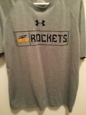 University Of Toledo Under Armour Heat Gear Loose Fit Ss Shirt-M-Football-U of T