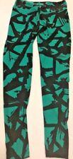 LULAROE $40 Green Jungle Print Leggings, Buttery Soft, One Size -Sm/Med