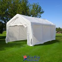10'x20' Portable Garage Carport Car Shelter Outdoor Canopy Party Wedding Tent