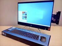 HP All-in-One - 22-c1013w AMD Ryzen 3 - 12GB- 1920x1080 FHD Vega 1TB + 256GB SSD