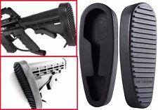 Hunting 6 Position Non-slip Rubber Butt Pad Combat Gun Stand Holder Black New