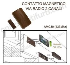 AMC30 BENTEL contatto magnetico Radio x Allarme Antifurto Wireless Kyo, Absoluta