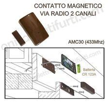 AMC30 BENTEL contatto magnetico Radio x Allarme Antifurto Wireless Kyo, Absoluta
