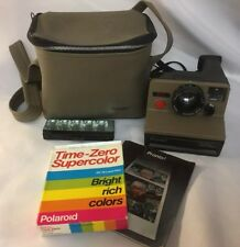 "Polaroid ""Sears Special"" Pronto Land Instant Camera w/Film, Bulb, Manual & Case"