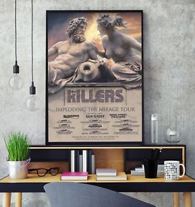 The Killers 2020 UK Stadium Tour Premium Poster Print Professional Grade Gloss