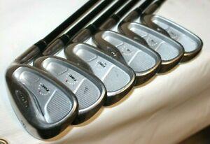 TaylorMade RAC OS R-Flex Graphite Shaft Iron Golf Club Set 4-9 Right Hand 6 Pcs