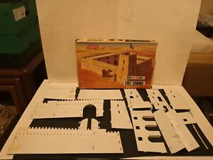 Vintage Airfix Ho-OO Scale Fort Sahara, Complete Bar Flag In Box, Some Issues!