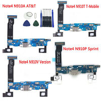 OEM Charging Charger Port MIC Flex Cable For Samsung Galaxy Note 4 N910A T V P