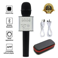 MicGeek Q9 Wireless Bluetooth Karaoke Microphone USB Speaker Mini Home KTV Black