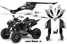 Yamaha Raptor350 AMR Racing Graphic Kit Wrap Quad Decals ATV All Years CARBON X