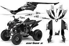 ATV Decal Graphic Kit Quad Sticker Wrap For Yamaha Raptor 350 2004-2014 CRBNX