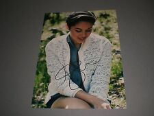 Kina Grannis sexy signed autograph Autogramm 8x11 inch photo in person