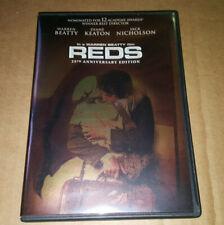 Reds DVD 2 Disc 25th Anniversary Special Edition Warren Beatty Diane Keaton