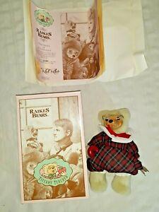 Raikes Bear Tiffany Teacher  MIB w/ COA  Complete!  2340/5000