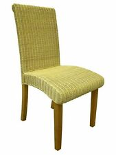 Abaca Wicker Rattan Dining Chair Indoor Conservatory Dining Furniture