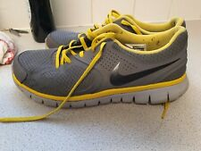 NIKE GREY/YELLOW TRAINERS UK 9.5