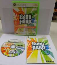 Gioco Game Consolle Microsoft XBOX 360 ITALIANO Play PAL BAND HERO - Activision