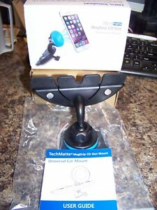 TECHMATTE MAGGRIP CD SLOT UNIVERSAL CAR MOUNT NEW FAST / FREE SHIPPING