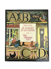 Walter Crane An Alphabet Of Old Friends And Absurd ABC Hardcover Book MMA 1981