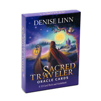 Sacred Traveler Oracle Cards A-52 Card Deck and Guidebook Realize Your Life