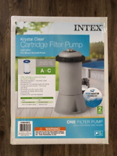 New Intex Krystal Clear 530 Gph Cartridge Filter Pump (28603EG)