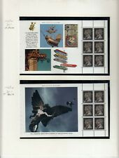 GB 1990 MACHIN BOOKLET PANES FROM LONDON LIFE BOOKLET  DX11 UMM