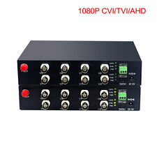 HD Video Fiber Optical Media Converters  for HD CCTV 1080p/960p/720p CVI TVI AHD
