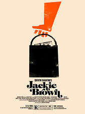 Olly Moss - JACKIE BROWN - Limited Edition Print Poster Mondo Rolling Roadshow