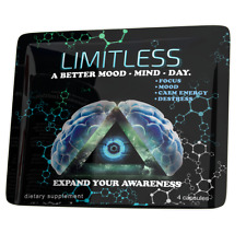 Limitless Pills Capsules 4 Pack Atomixx Mood /Focus /Anti-Anxiety Stress Free