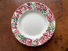 "Emma Bridgewater Red Stargazer Lily 10.5"" Dinner Plate New & 1st Quality"