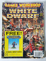 #190 WHITE DWARF MAGAZINE Games Workshop Citadel Miniatures Vintage 1980/90s