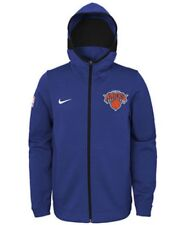 Nike Boys NBA New York Knicks Dry Showtime Hoodie Jacket Size Large 14/16 L New