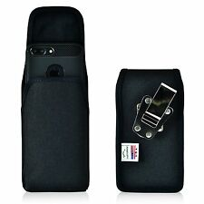 Turtleback  iPhone 7 Plus Holster Metal Belt Clip Case Pouch Nylon Vertical  sw