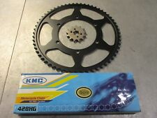 APRILIA RS4 125 4T ALL MODELS GOLD HD CHAIN AND JT SPROCKET S SET KIT QUALITY
