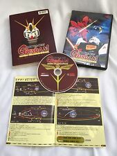 Bandai 2002 Mobile Suit Gundam Chars Counterattack DVD movie with booklet